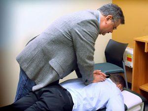 amazing chiropractic adjustment