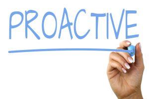 reactionary, preventative or proactive